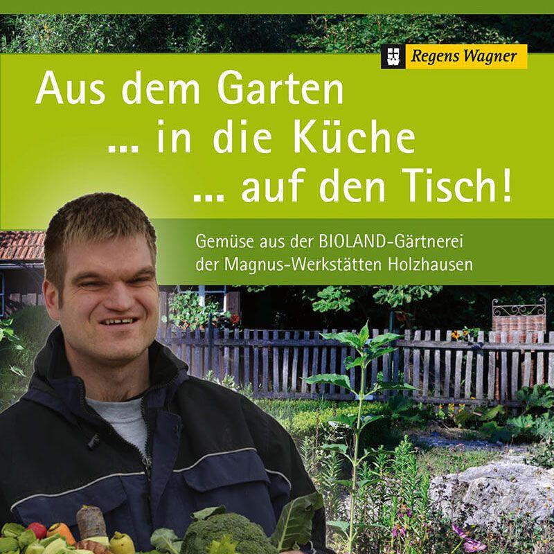 Gemüse-Kochbuch von Regens Wagner Holzhausen