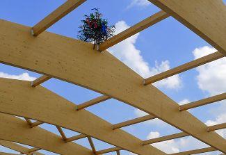Richtfest für die neue Lagerhalle der  Bioland-Gärtnerei von Regens Wagner Holzhausen