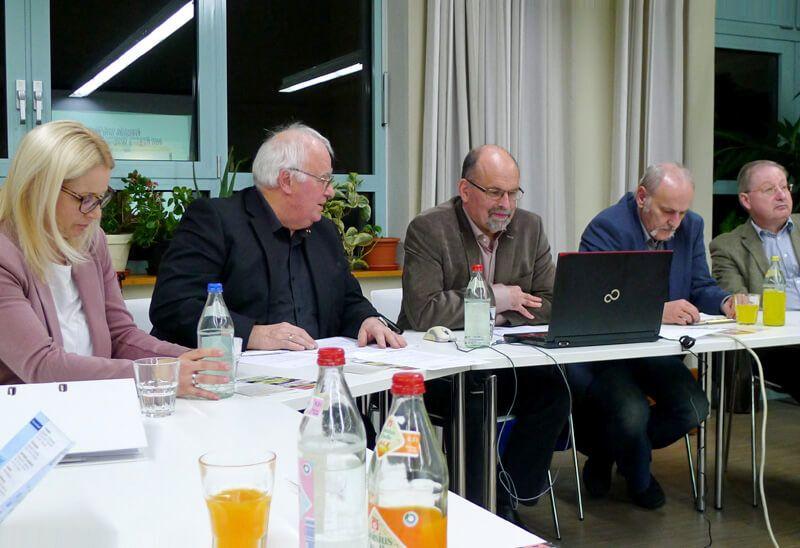Von links: Simone Kögl, Werner Alig, Ulrich Hauser, Herbert Thanner, Johann Hartmann