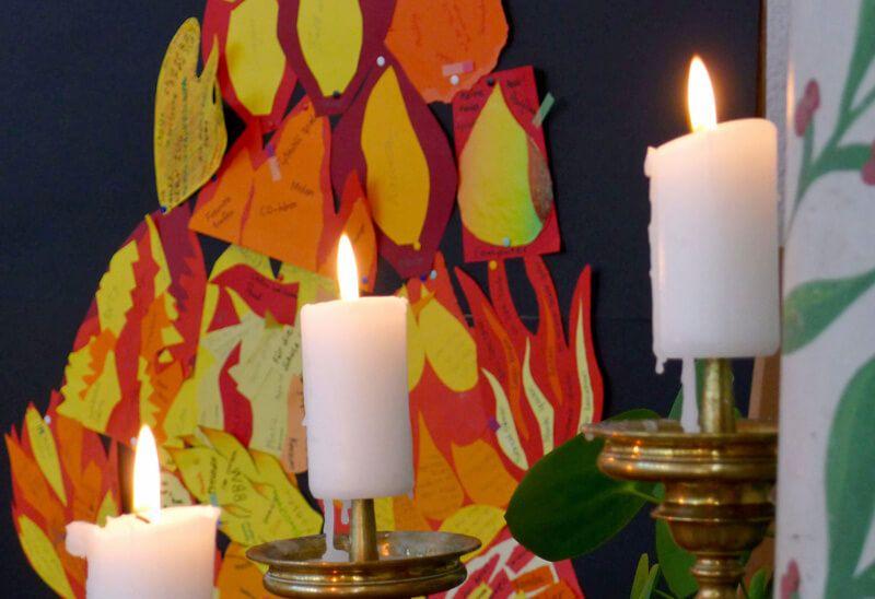 Firmung 2018 in der Kirche des Magnusheims