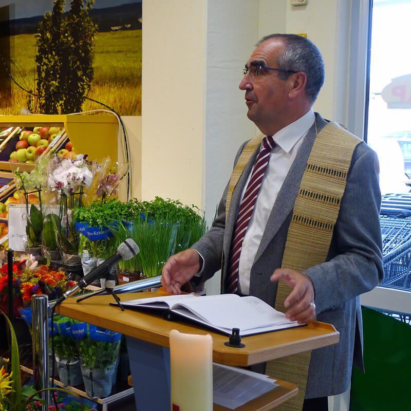 Segnung CAP-Markt Penzing15. Oktober 2014