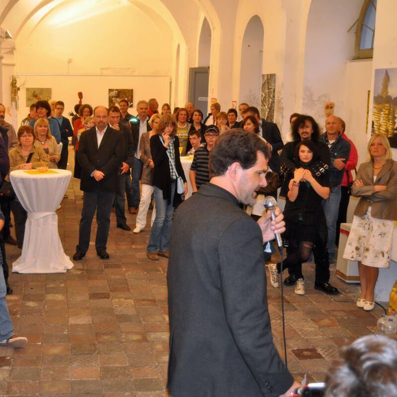 Vernissage zur Ausstellung Landart9. Apri 2011