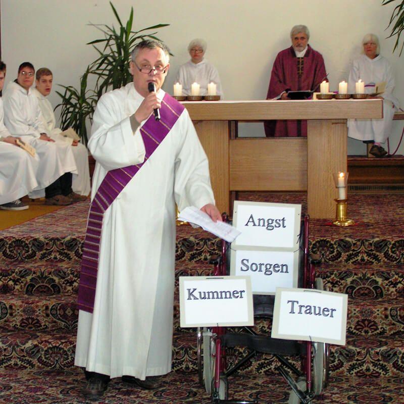 Gottesdienst mit Direktor Appel23. März 2011