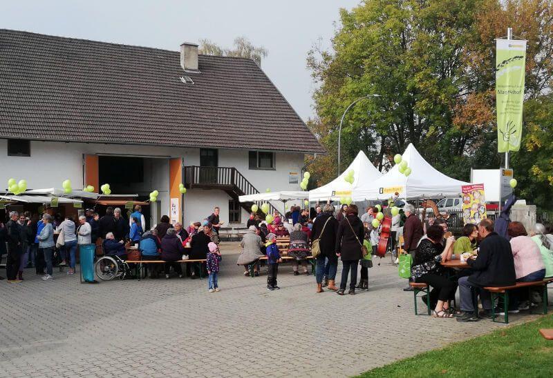 Krauthobelfest 2018 bei Regens Wagner Holzhausen