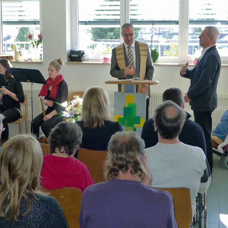 Segnung der Förderstätteim Forum Landsberg20. Februar 2015