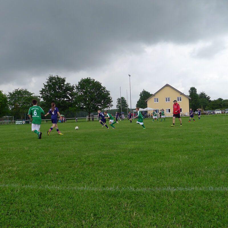 Inklusives Fußballturnier für Jugendmannschaften19. Juni 2016