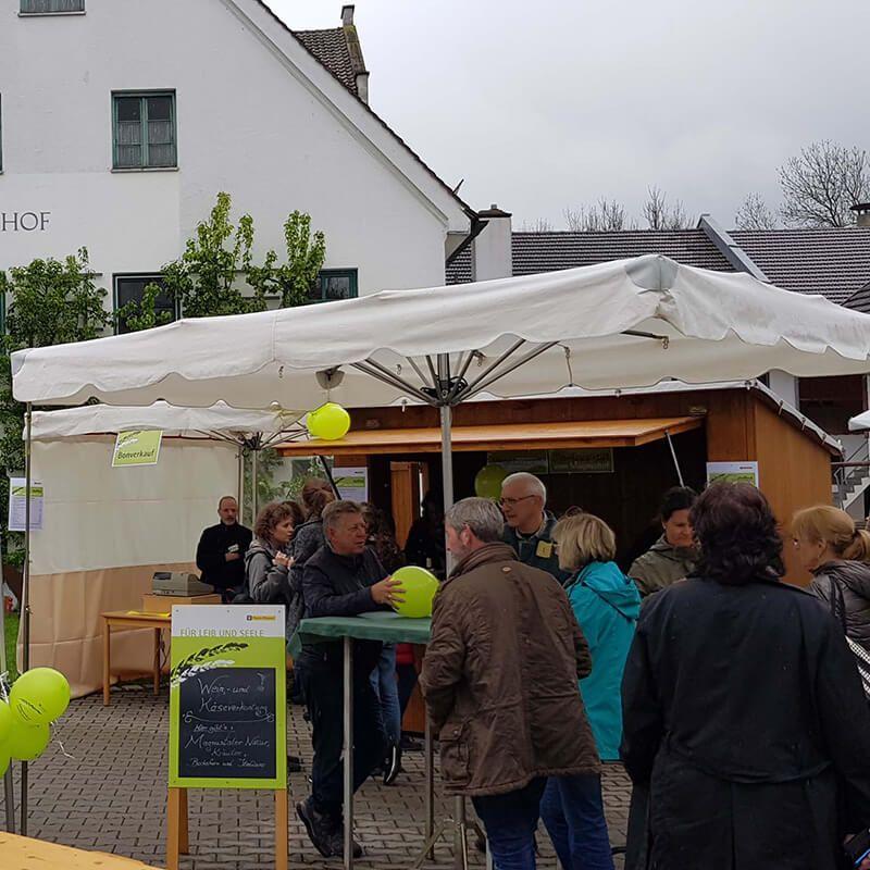 Hoffest und Jungpflanzenverkauf3. Mai 2019