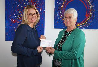 Firma Tahedl spendet 2000 Euro